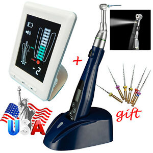 Dental Led Endo Motor Root Canal Treatment Wireless contra Angle Apex Locator