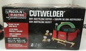 new Lincoln Electric Cut Welder Kit Welding Oxy Acetylene Outfit Kh995