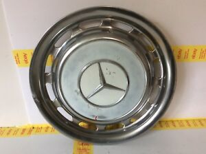 1960 1979 Vintage Mercedes Benz Pagode Hubcap Wheel Covers 14 Oem 2