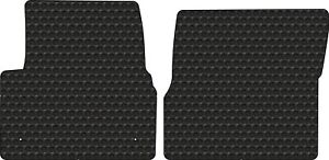 Volvo Truck Vn Vnl Vt Black Rubbertite All weather 2pc Floor Mats Fits 1998 2017
