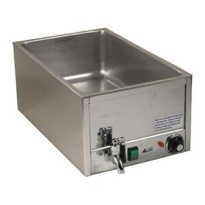 Alfa Fw9000 Single Countertop Food Warmer With Spigot