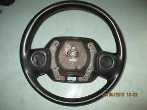 1994 1997 Dodge Ram Steering Wheel Leather Black