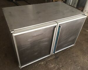 Silver King Skr48 Commercial Restaurant S s 2 Door Under Counter Refrigerator