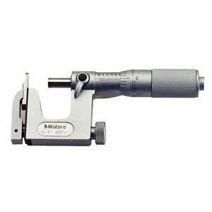Mitutoyo 117 107 0 1 Uni mike Multi anvil Micrometer