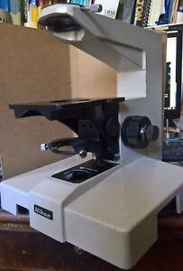Nikon Optiphot 66 Microscope Stand Base or Epiphot W Focus And Condenser Cli
