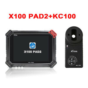Xtool X100 Pad2 With Kc100 Auto Key Programmer Odometer Eeprom Epb Eps Obd2