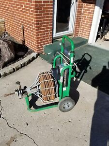 Electric Eel 3 4 100 Drain Cleaner Sewer Snake Model Rf Cleaning Machine Used