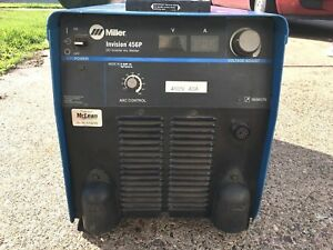 Miller Invision 456p 456 Welding Power Supply Welder Free Shipping