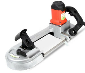 Ce High Quality Electric Small Portable Band Saw Machine Sawing Machine
