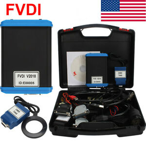 Fvdi V2018 Abrites Scanner Key Pro grammer Of Vvdi2 Cars Diagnostic Tool From Us