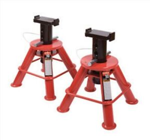 10 Ton Low Height Pin Type Jack Stands Pair Sunex Tools 1210 Suu Lp