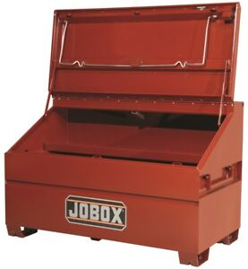 Jobox Job Site Slope Lid Chest Tool Box 1 680990