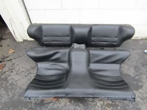 85 86 Porsche 944 Turbo Rear Seat Seats Black