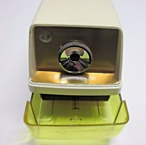 Panasonic Vintage Point o matic Electric Pencil Sharpener Kp 33a Made In Japan
