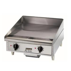 Toastmaster Tmge24 24 Countertop Electric Griddle Flat Top Grill