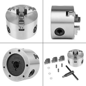 K11 80 3 jaw Self centering Metal Lathe Chuck With Extra Jaws Turning Machine