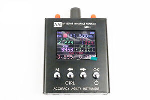 N2201ss Antenna Analyzer Rf Vector Impedance Tester Power Meter 137 5m 2 7ghz