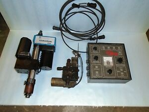 Climax Model 3000 Autobore Welder Bortech Bore Welder Parts Body Control Feeder