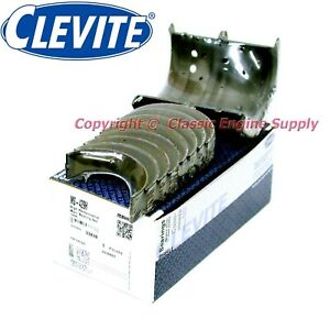 New Clevite H Series 010 Under Size Main Bearing Set 327 302 283 265 Sb Chevy