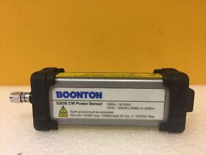 Boonton 52026 10 Mhz To 26 5 Ghz 50 To 20 Dbm Usb Cw Power Sensor Tested