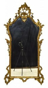 Antique Italian Florentine Gilded Wall Mirror