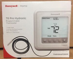 Honeywell T6 Pro Hydronic Programmable Thermostat Th6100af2004