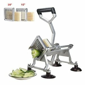 Hot Deal Alloy Heavy Duty French Fry Cutter Slicer Suction Feet Complete Set