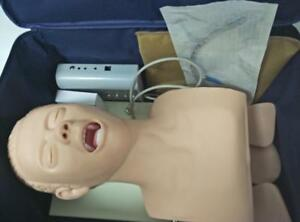 Intubation Manikin Study Teaching Model Airway Management Trainer Pvc