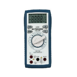 Bk Precision 2709b Tool Kit Auto Ranging True Rms Digital Multimeter