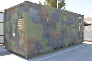 160 Sqft Military Style Shipping Container Remodeled Room Fully Furnished