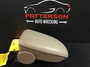 2004 Ford Focus Front Center Floor Console Armrest Only Tan