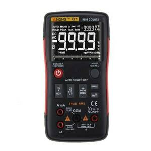 Aneng Q1 True rms Digital Multimeter Button 9999 Counts With Analog Bar Graph