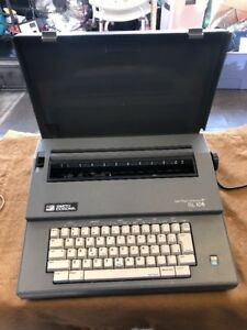 Smith Corona Spell Right Dictionary Sl105 Electric Type Writter Working