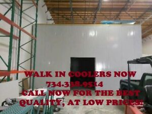Walk in Cooler 8 w X 16 d X 10 h Bakery Butcher Bar Club Restaurant