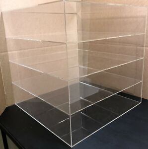 4 Shelves Large Pizza Display Case For Cooled Products Only Countertop Large