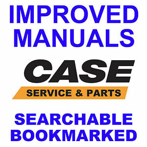 Case 580ck Tractor Service Manual Parts 3 Manuals Searchable 1966 1971 Cd