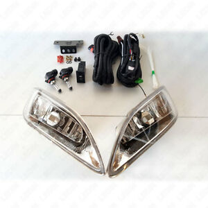 Complete Fog Light Kit For 2005 2008 Toyota Corolla W Switch Relay Wiring Bulbs