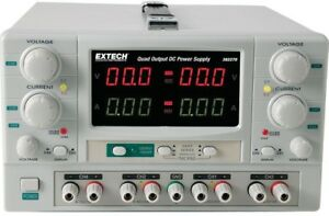 Extech Instruments Quad Output Dc Power Supply