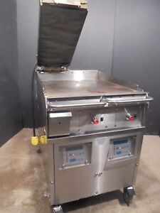 Grill Clam Shell Flat Top Grill Taylor Qs24 23 1795 00