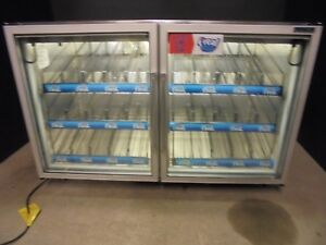Freezer Undercounter 2 Glass Door F real Frezer Nice 1325 00
