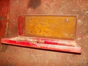 Farmall Tractor Ih Ihc 715 Combine Tool Box With Lid