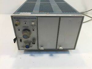 Tektronix Tm503 Power Module Chassis With Am503 Current Probe Amplifier
