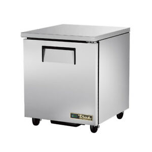 New True Tuc 27 hc Under Counter Refrigerator