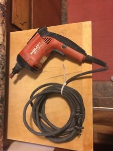 Hilti sd4500 Corded Drywall Screw Gun Tested And Works Good