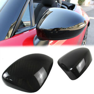 Dry Carbon Fiber For Mazda Miata Mx 5 Mx5 Side View Mirror Cover Trim
