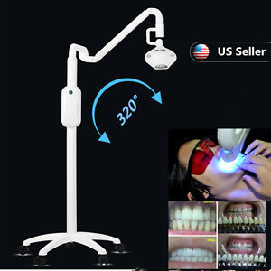 Dental Teeth Whitening Cold Led Lamp Bleaching Machine Light 3d R20 Shade Guide
