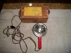 1940 s Perfect Lite Auto Spotlight With Plug In Adapter Chevrolet Ford Mopar