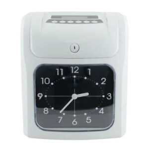 Electronic Employee Punch Time Attendance Recorder Clock Payroll With 50 Cards