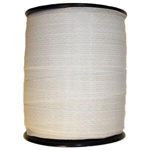 Electric Fence Horse Deer Polytape White 1 5 Wide 656