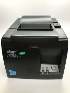 Star Micronics Tsp100iii Series Thermal Receipt Printer Black